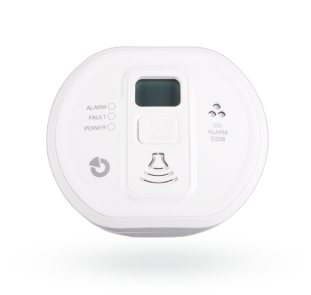 Stand-alone carbon monoxide detector with display