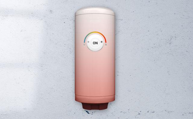 Boiler aanzetten