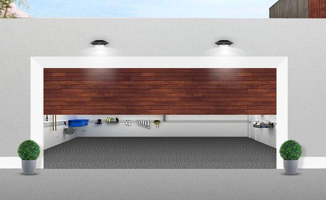 Öppna din garagedörr genom att blinka med strålkastarna