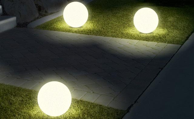 Belysning av uppfarten