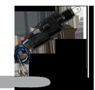 Tenký motor centrálního zamykání - pětidrátový (řídící)