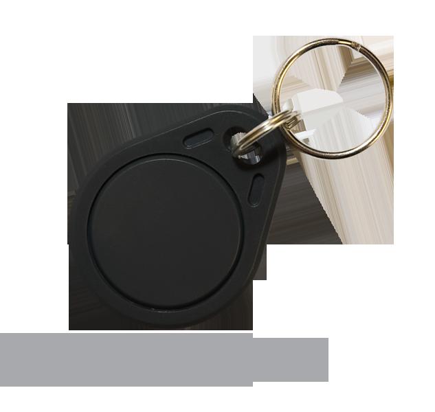 PC-02B Bezdotykový RFID přívěsek - černý