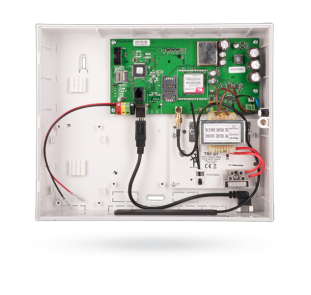 Control panel with built-in GSM / GPRS communicator