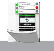 Sběrnicový přístupový modul s displejem, klávesnicí a RFID