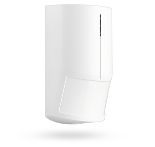 Wireless PIR and MW combined detector