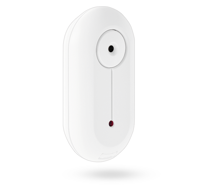 Wireless ceiling glass-break detector
