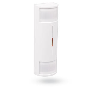 Wireless dual PIR indoor detector