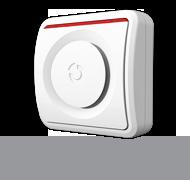 Wireless internal siren