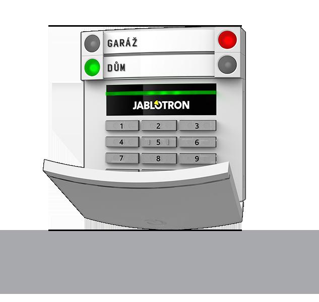 JA-113E Sběrnicový přístupový modul s klávesnicí a RFID