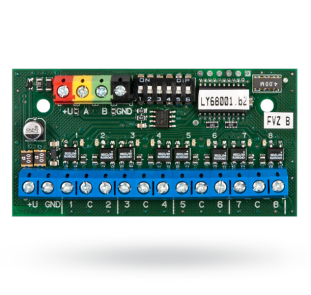 Eight-channel bus output module