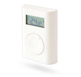 Wireless programmable indoor thermostat