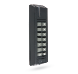 BUS outdoor access module with RFID and keypad