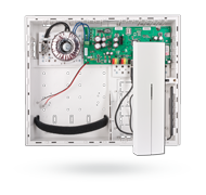 Control panel with built-in GSM/GPRS/ LAN communicator and radio module
