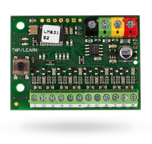 BUS module for magnetic detectors - 8 inputs