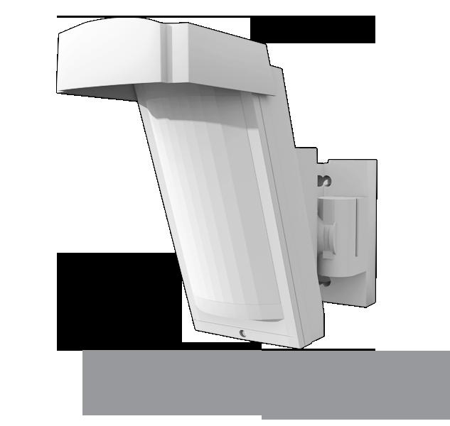 Ja 158p d tecteur ext rieur sans fil volum trique jablotron for Detecteur volumetrique exterieur