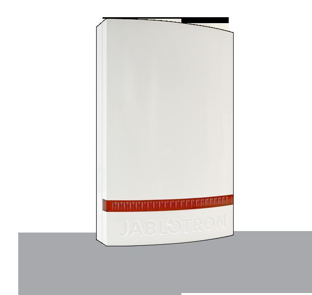 JA-1X1A-C-WH Plastový kryt sirény JA-111A, JA-151A - bílý, červený blikač
