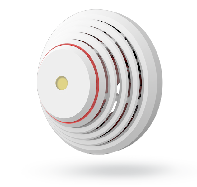 Stand-alone combined smoke and heat detector