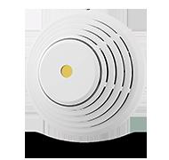 Kombinovaný detektor kouře a teplot se sirénou - drátový