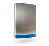 Stainless cover for sirens JA-111A, JA-151A, blue flasher
