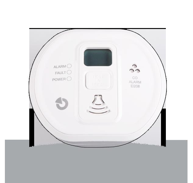 EI208DW Autonomní detektor plynu CO s displejem