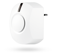 Indoor wireless siren for electrical sockets