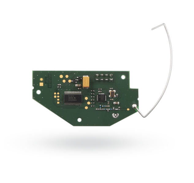 Wireless module for connection of an Ei208W(D) CO detector