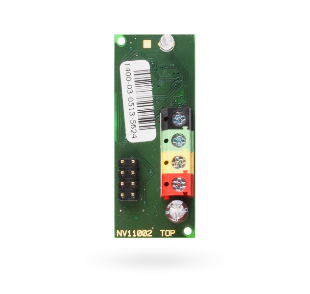 Bus module for connection of an Ei208W(D) CO detector