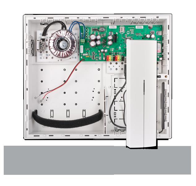 JA-106KR-3G Ústředna se zabudovaným 3G/LAN komunikátorem a rádiovým modulem