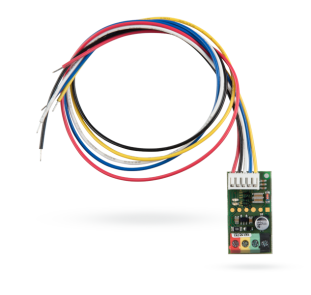 Bus module interface for wire detector