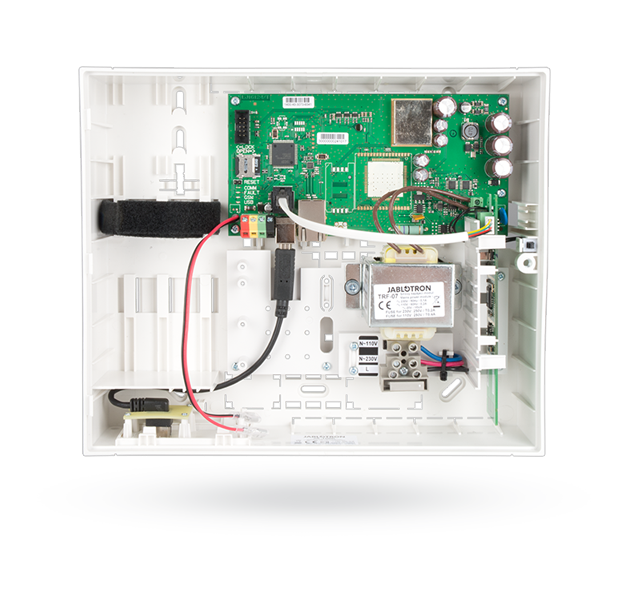 JA-100KR Control panel with built-in LAN communicator and radio module