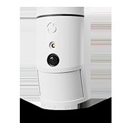 Bezdrátový PIR detektor pohybu s foto verifikační kamerou 90°