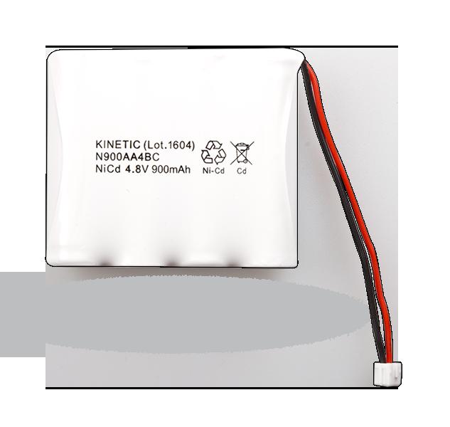 BAT-4V8-N900 NiCd akumulátor 4,8 V/900 mAh