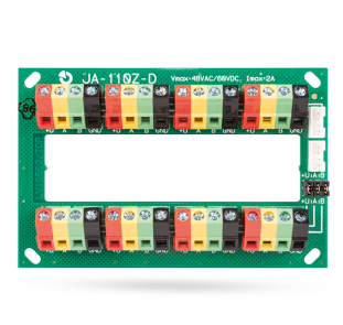 Multiposition bus terminal module