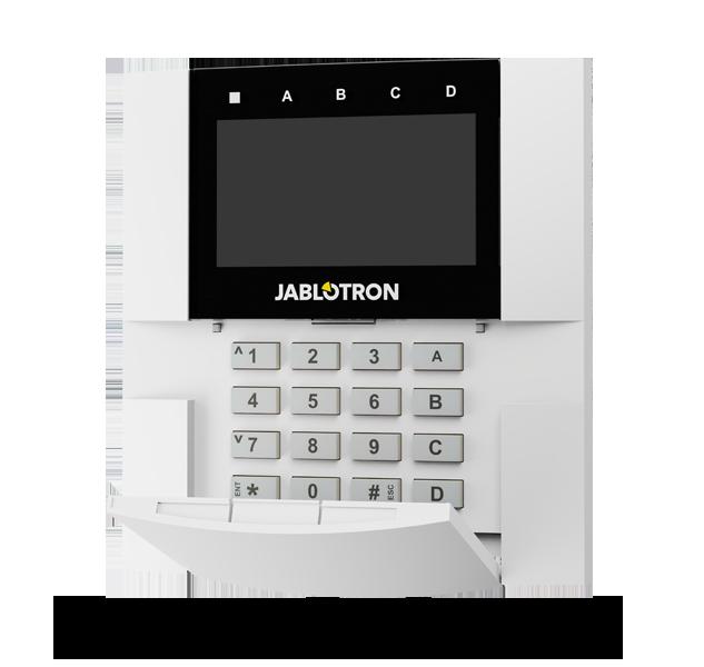 Bezdrátová klávesnice s displejem, klávesnicí a RFID čtečkou