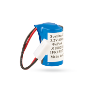 Bateriový pack - 3,2 V/0,4Ah - LiFePo4 CR2