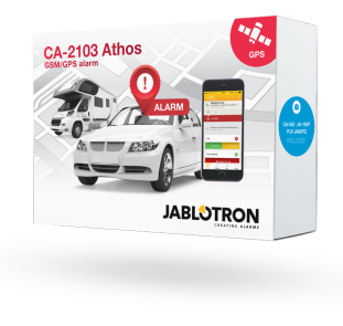Car alarm set CA-2103, CA-550, JA-185P and PLV-JA85PG