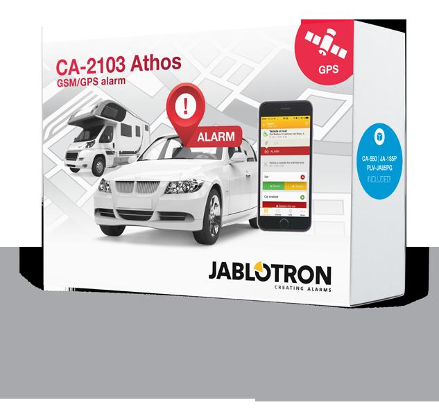 CA-2103SET B Car alarm set CA-2103, CA-550, JA-185B and PLV-JA85PG