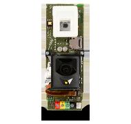 Osazená DPS sběrnicového kombi. PIR detektoru pohybu s foto verifikační kamerou