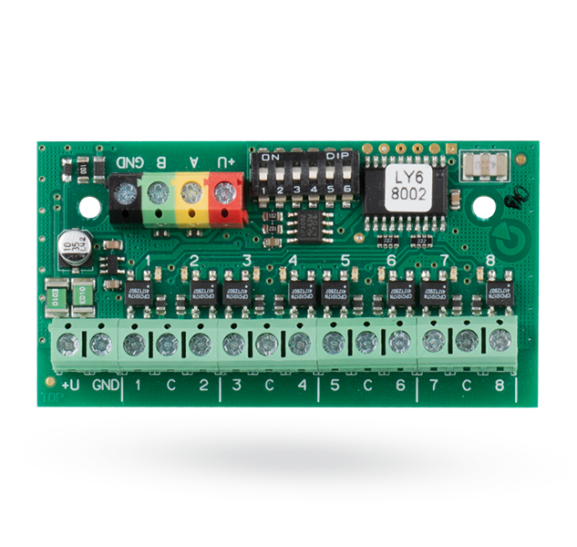 Bus signal PG output module - 8 outputs