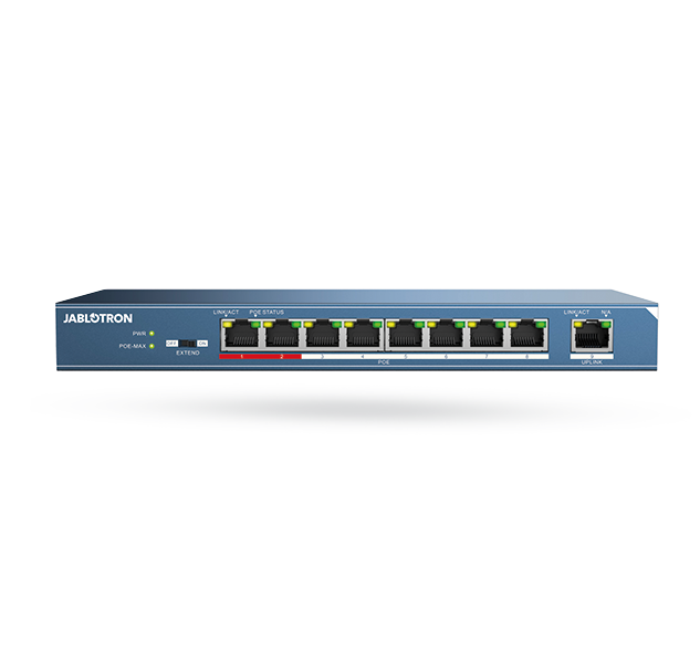Ethernet swith PoE - 8 Ports