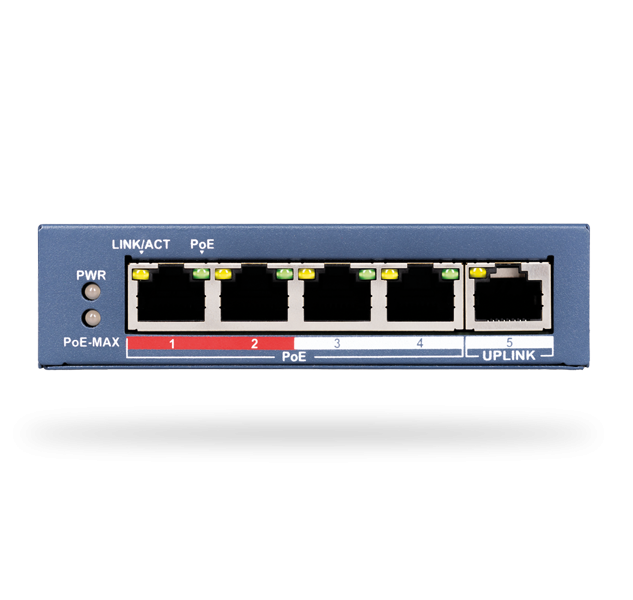 JI-114Z Ethernet switch PoE - 4 Ports