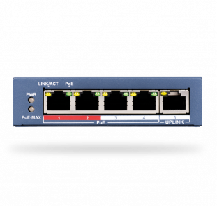 Ethernet swith PoE - 4 Ports