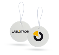 Car freshener with logo JABLOTRON