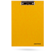 Clipboard with JABLOTRON logo - yellow