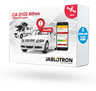 Car alarm set CA-2103, CA-550, 2x JA-185P and JA-150M