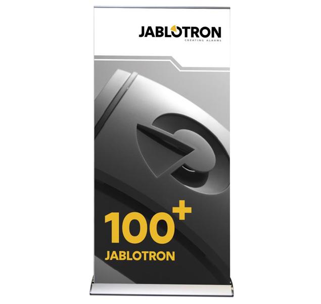 PI-ROLL+SIR Roll up JABLOTRON 100+ (siréna)