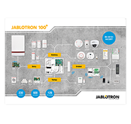 Poster JABLOTRON 100+ - EN version