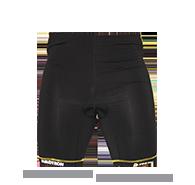 Pánské cyklistické prádlo AlpinePro SIVIN, černá, vel. XL