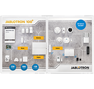 Presentation double panel JABLOTRON 100+ - EN version