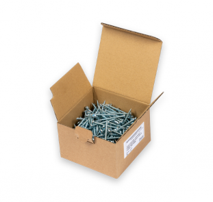 Wood half-round head screws